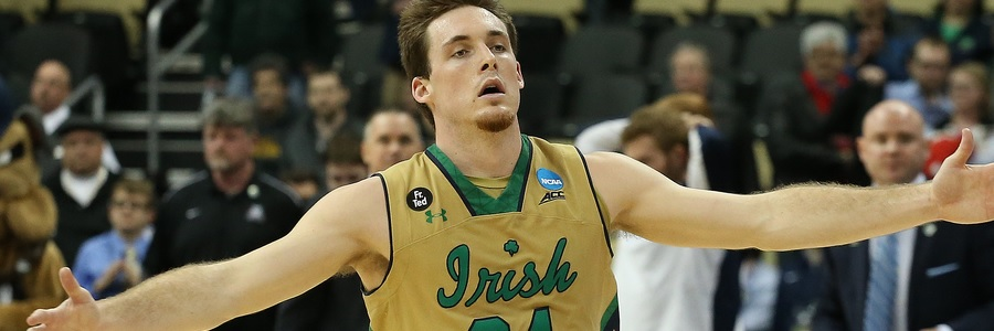 JAN 17 - 2017 College Basketball Betting Lines Notre Dame At Florida State