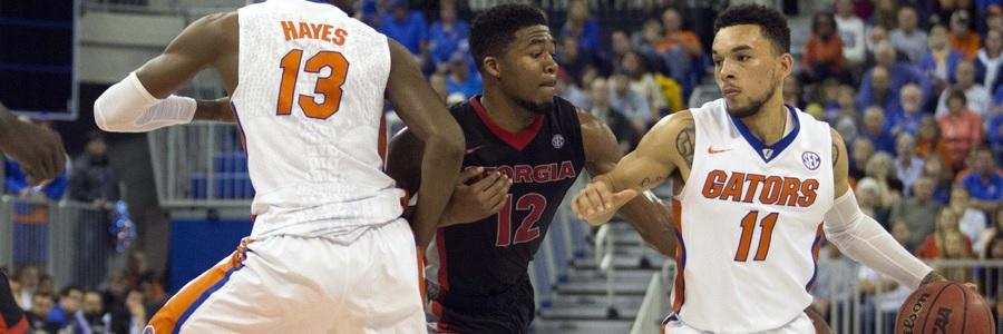 JAN 17 - 2017 College Basketball Betting Odds Florida At South Carolina