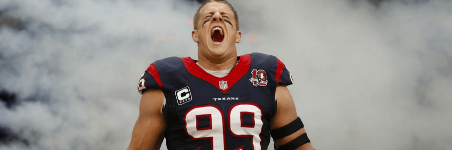 Hey Chiefs, the NFL sack leader will be waiting for you in Houston.