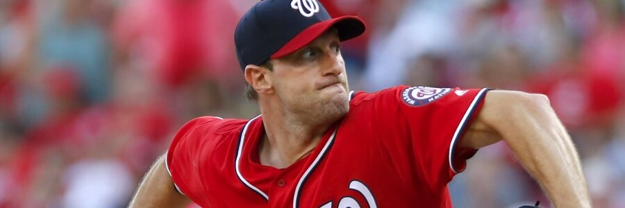 Max Scherzer (11-5, 2.01 ERA) has been dominant this MLB betting season, and he will get the ball on Friday night.