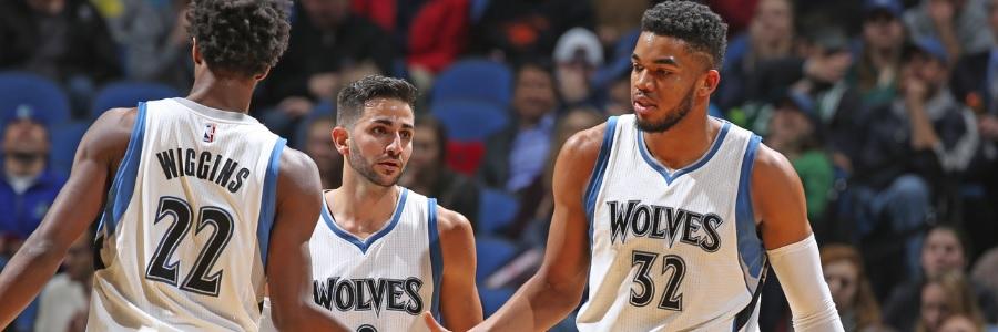 Minnesota Timberwolves NBA Win Total Odds Pick Over 45.5 Wins