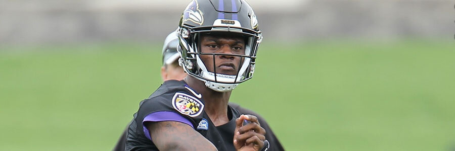Bears vs Ravens is going to be Lamar Jackson's NFL debut.