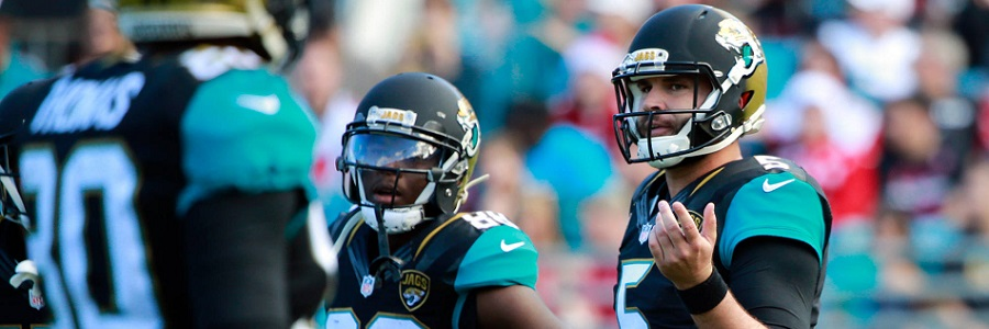 According to the NFL Spread for the Wild Card Round, the Jaguars are huge favorites to beat the Bills.
