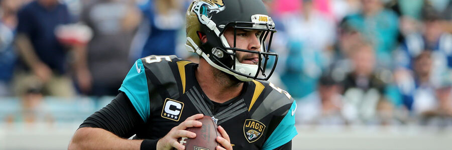 Jacksonville Jaguars 2018 NFL Win/Loss Odds Prediction.