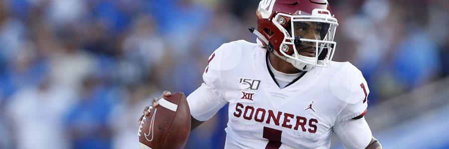 Texas Tech vs Oklahoma 2019 College Football Week 5 Odds & Prediction.