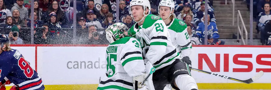 Jets vs Stars NHL Betting Lines & Pick for Thursday Night.