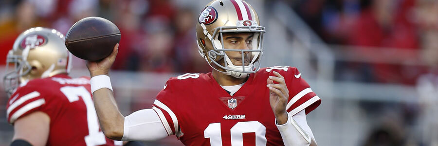Falcons vs 49ers should be an easy one for Jimmy G and the gang.
