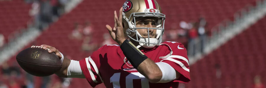 The 49ers look like a good betting pick for the 2018 NFL Season.