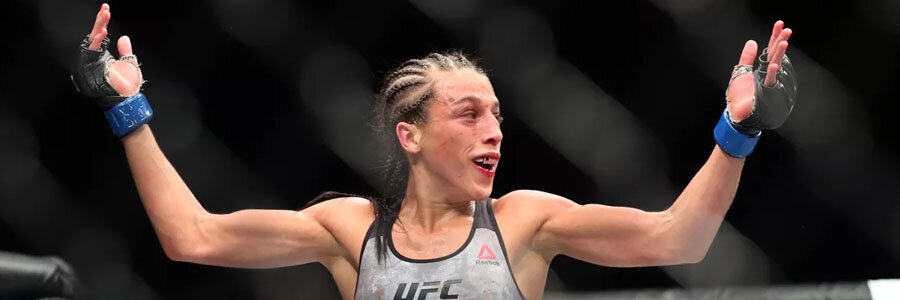 Joanna Jedrzejczyk is the favorite at the UFC Odds against Tecia Torres.