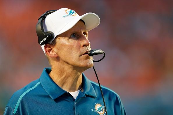 Joe Filbin Miami Dolphins NFL 2015