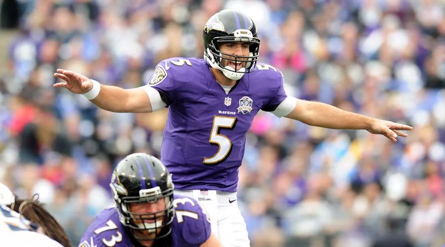 Joe Flacco Ravens vs Chargers