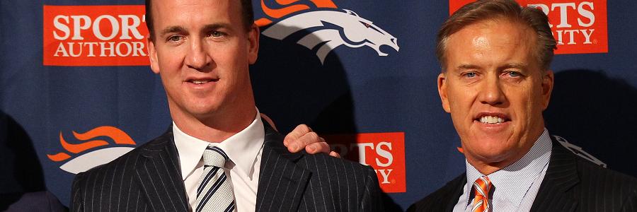 John Elway and Peyton Manning