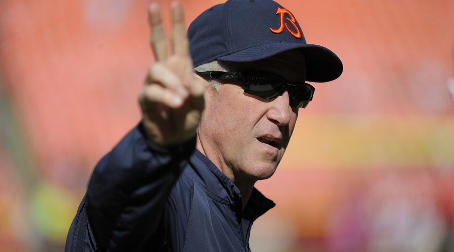 John Fox Bears NFL Odds