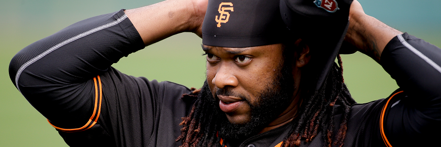 Johnny Cueto, one of the Giants newest aces will get the nod for Tuesday's game.