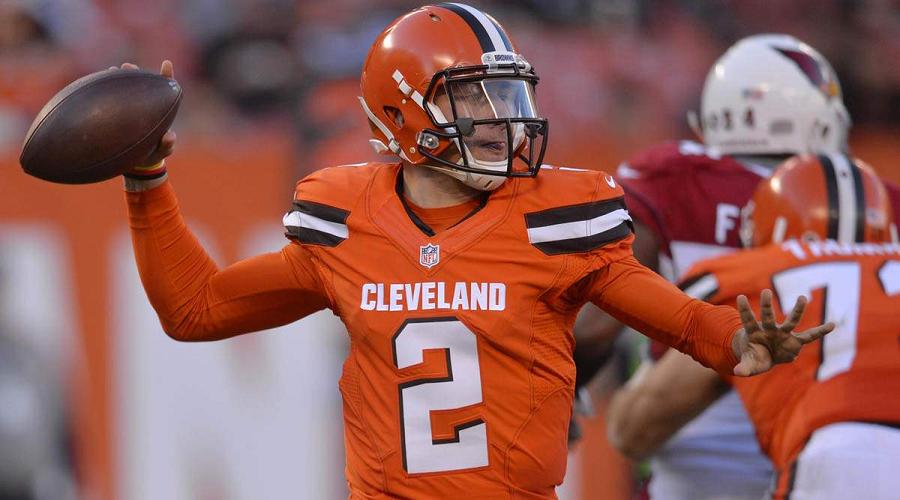 Johnny Manziel Cleveland Browns NFL