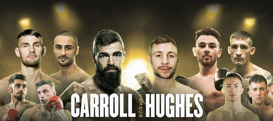 MTK Fight Night: Jono Carroll Vs Maxi Hughes Betting