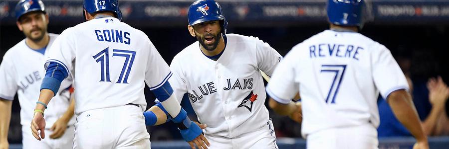 Online Baseball Betting Odds on Toronto at Atlanta