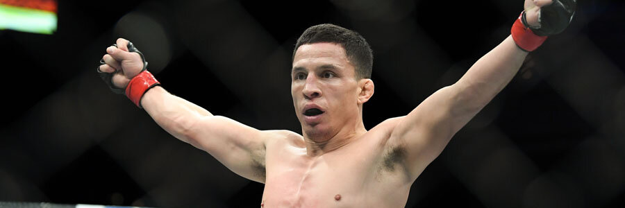 Joseph Benavidez is one of the favorites for UFC Fight Night on Saturday Night.