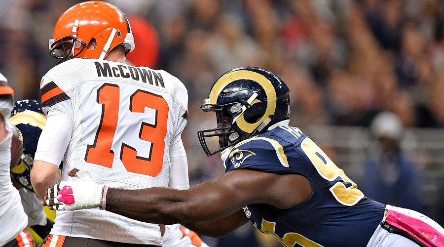 Josh McCown vs Rams