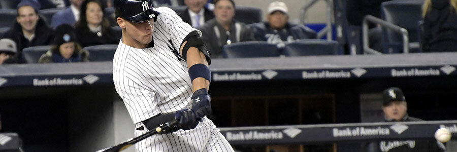 Aaron Judge improves the Yankees 2017 World Series Odds.