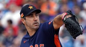 Justin Verlander MLB Odds For 2020 Season April 9th Edition