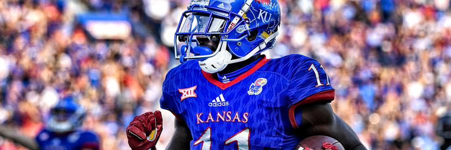 Kansas looks like a good College Football Week 10 betting picks.