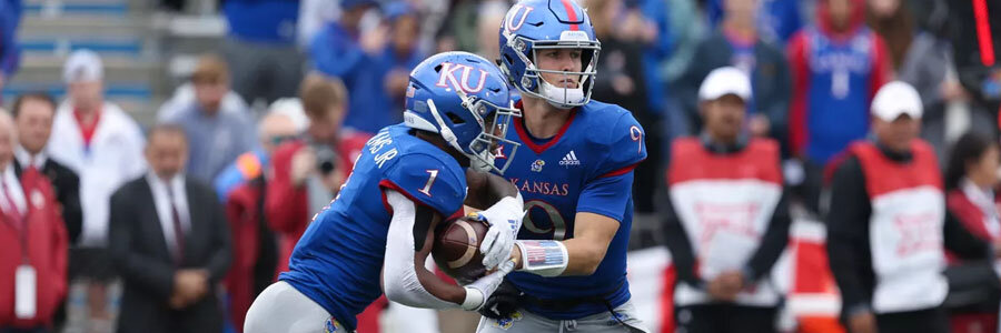 Kansas vs Texas 2019 College Football Week 8 Spread & Prediction.