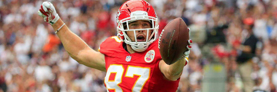 The Chiefs are favorites for one of the NFL Conference Championship Games.