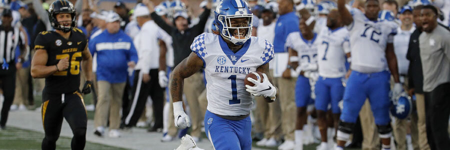 Kentucky is one of the favorites for NCAA Football Week 11.