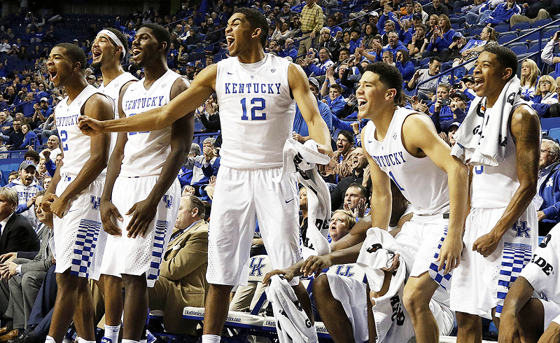 Is Kentucky's NCAA Hoops Program an NBA Mill?