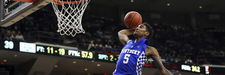Kentucky is one of the favorites for the 2019 March Madness Tournament.