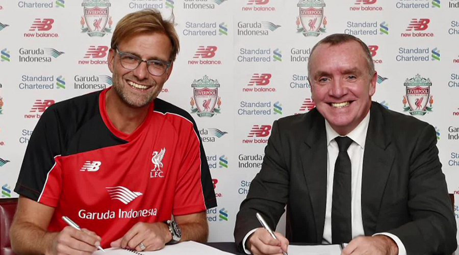 Klopp Contract Signing