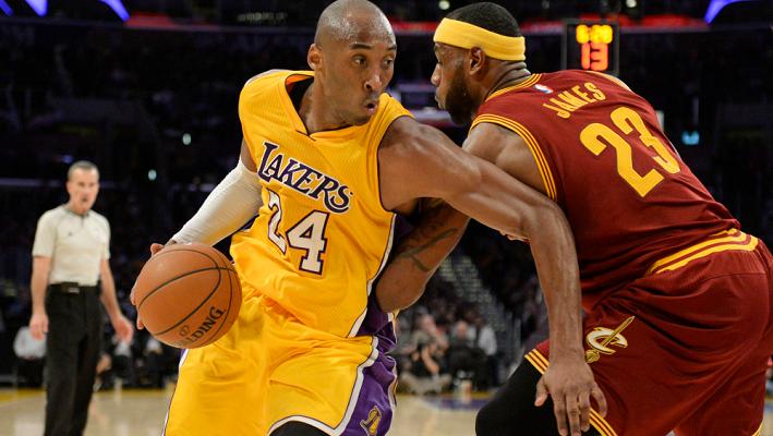 Kobe vs Lebron 2014
