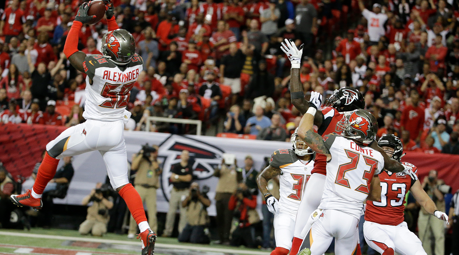 Kwon Alexander Interception