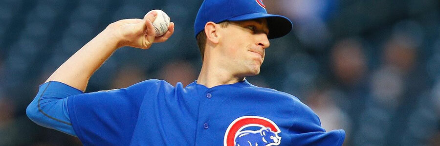 Kyle Hendricks and the Cubs are slight NLDS Game 5 Betting Odds favorites.