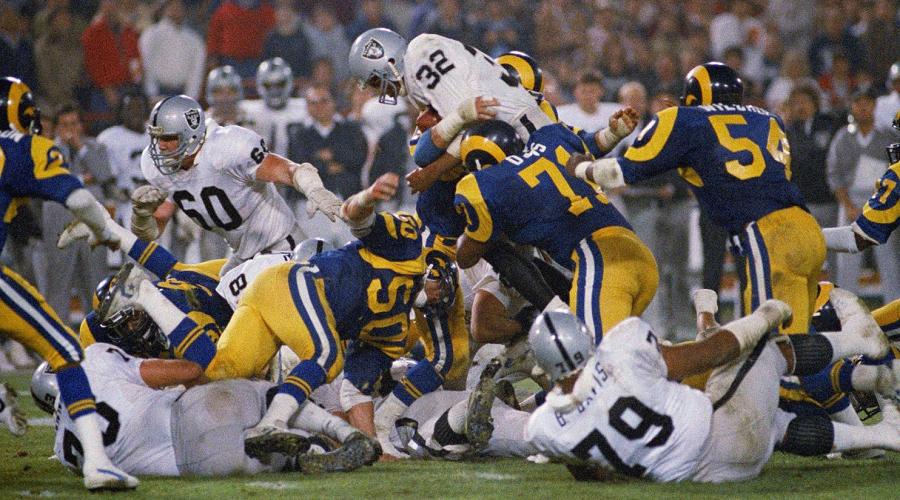 LA Rams vs Oakland