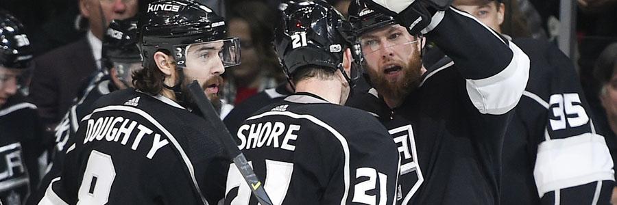N.J. Devils Host Streaking L.A. Kings As Slight NHL Odds Underdog.