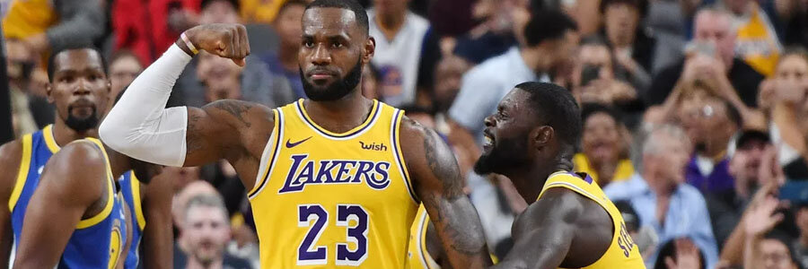 The Lakers are not a safe NBA Betting pick for this week.