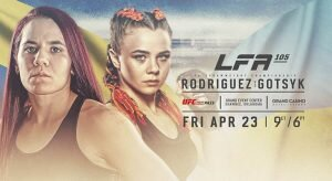 LFA 105: Rodriguez Vs Gotsyk Odds & Picks - MMA Betting