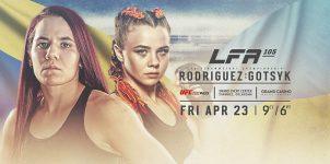 LFA 105: Rodriguez Vs Gotsyk Odds & Picks - MMA Betting