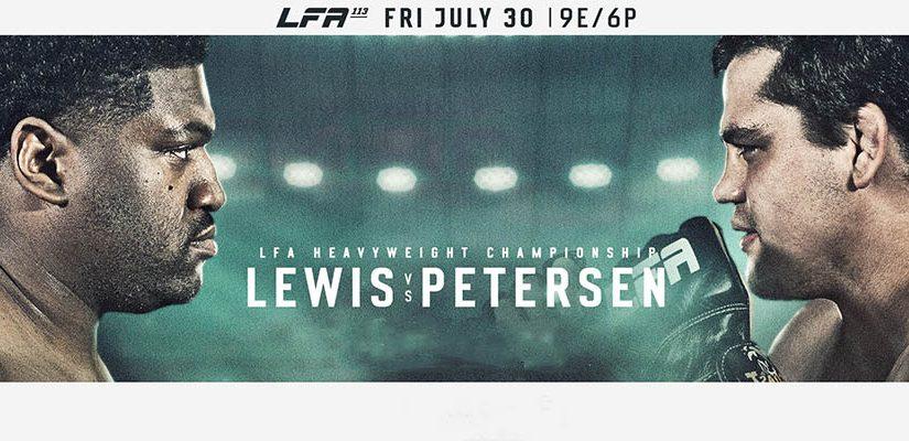 LFA 113: Lewis Vs Petersen Betting Odds & Predictions