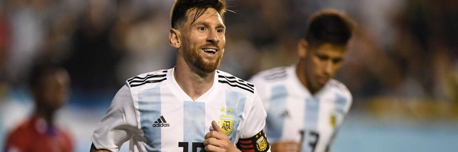 Argentina comes in as the 2018 World Cup Betting favorite against Croatia.