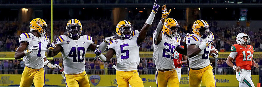 Georgia vs LSU is going to be a thrill.