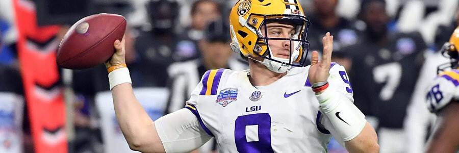 LSU comes in as the favorite for the College Football Championship Game.