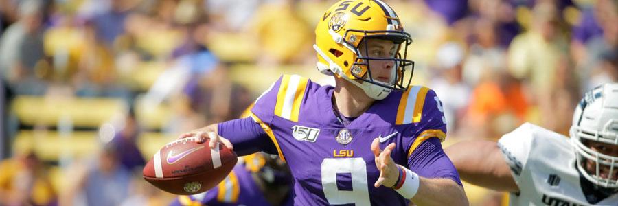LSU vs Alabama 2019 College Football Week 11 Odds, Game Info & Prediction.