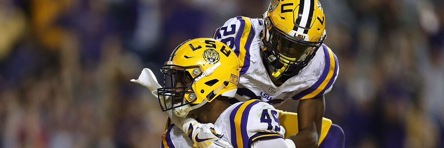 LSU is one of the favorites to win at NCAA Football Week 8 action.