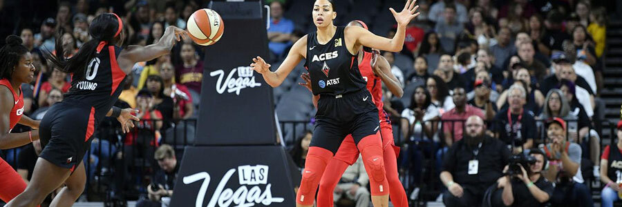 Las Vegas Aces should be one of your WNBA Betting picks of the Week.
