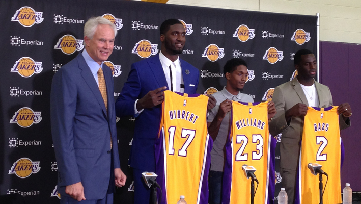 Lakers new signings 2015