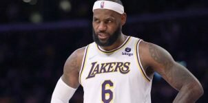 LeBron James Could Miss Tuesday's Game Lakers vs. Spurs Game Preview Betting NBA