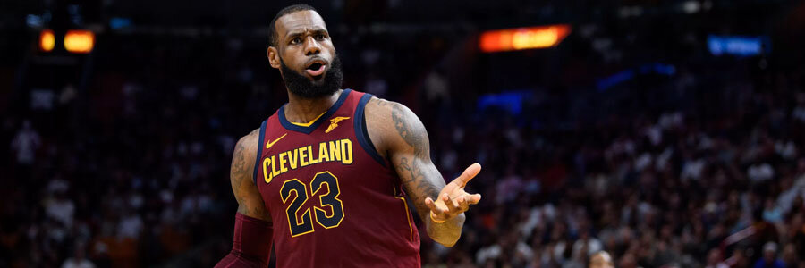 Despite losing Game 1, the Cavs remain on top of the Celtics at the NBA Championship Odds.